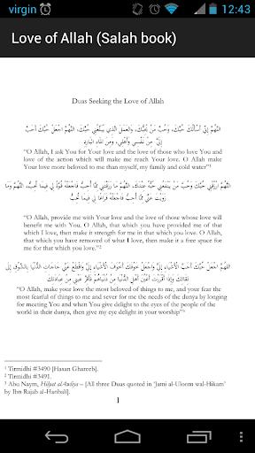 Love of Allah Salah e-Book