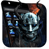 Ice White Walkers 3D Theme