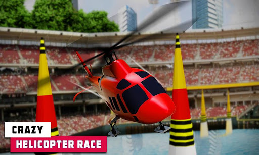 Flying Helicopter Simulator 2019: Heli Racer 3D  screenshots 1