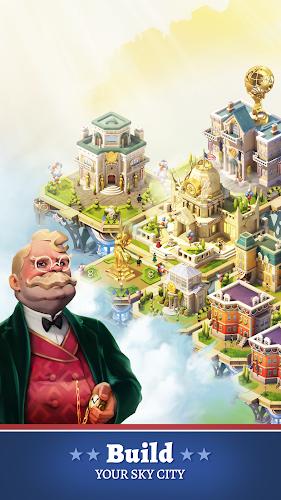 Big Company: Skytopia | Sky City Simulation Android App Screenshot