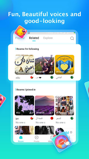 Haaya-Entertaining voice chat app 1.0.8 screenshots 2