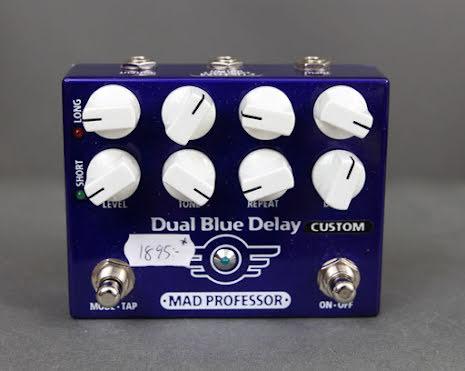Mad Professor Dual Blue Delay Custom USED - Very Good Condition