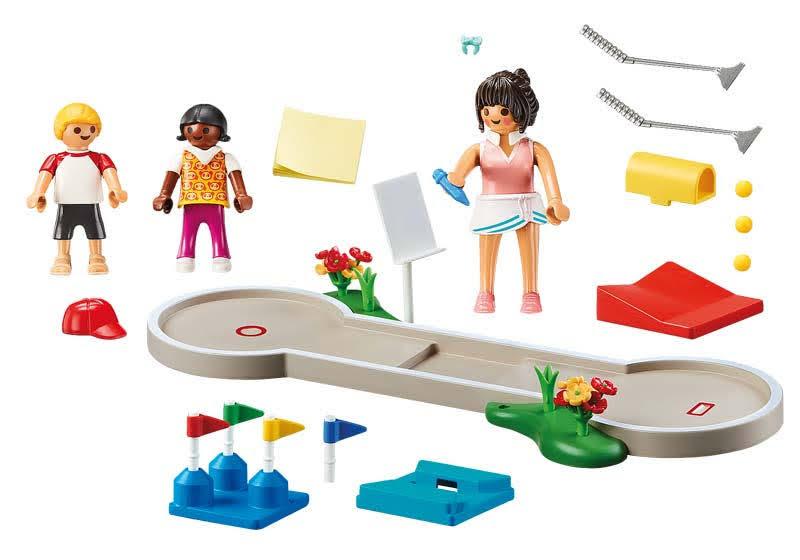Contenido real de Playmobil® 70092 Mini Golf
