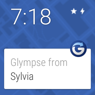 Glympse - Share GPS location- screenshot