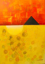 Photo: Die Pyramide  5o-70cm  Acryl auf Leinen X