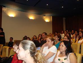 Photo: Na sessão de perguntas.