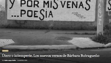 "Photo: Reseña ""Casa útero"" de Bárbara Butragueño (Calambur, 2016) en ""Nueva Revista"", noviembre 2016"