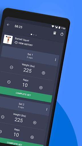 Gym Workout Tracker & Planner for Weight Lifting 1.38.0 Screenshots 2