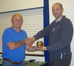 Photo: Club Artefact 2nd - Vic Francis - presented by Kurt Adams