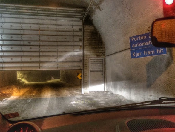 Photo: Tunnel with automatic gate