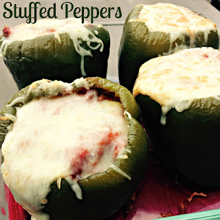 Stuffed Green Peppers.