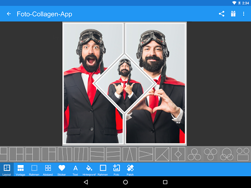 Foto-Collagen-App screenshot 8
