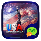 (FREE) GO SMS USA INDEPENDENCE DAY THEME