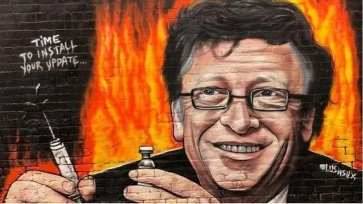 Melbourne, murales contro Bill Gates – RENOVATIO 21