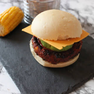 Soy and Chickpea Burgers.