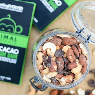 4 Ingredient Paleo Trail Mix + Eating Evolved Giveaway