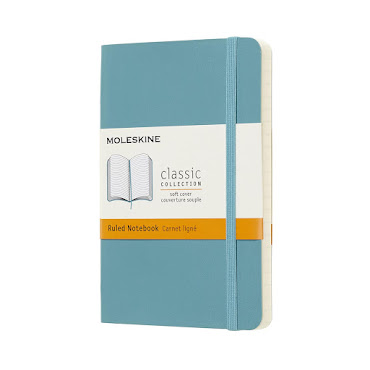 Classic Soft Cover Pocket Reef Blue