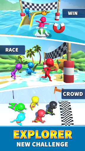 Sea Race 3D - Fun Sports Game Run apkpoly screenshots 15