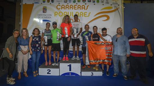 El Circuito Provincial de Carreras Populares se despidió con la prueba de Gádor