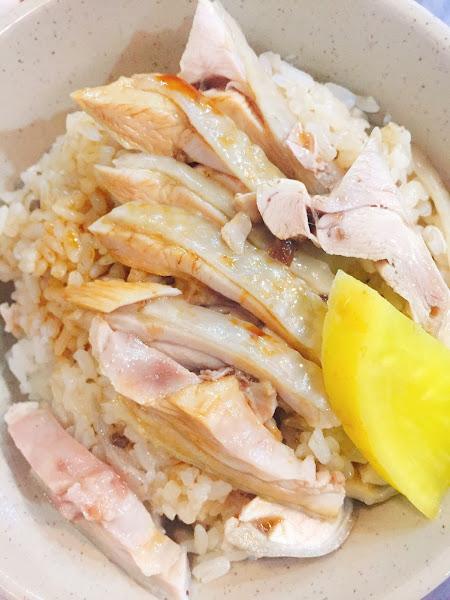 嘉義噴水雞肉飯-油滋滋的雞肉很下飯