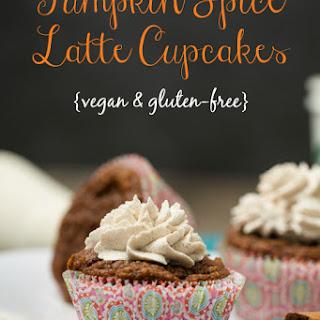 Pumpkin Spice Latte Cupcakes {vegan + gluten-free}.