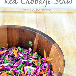 Spicy Red Cabbage Slaw Recipes