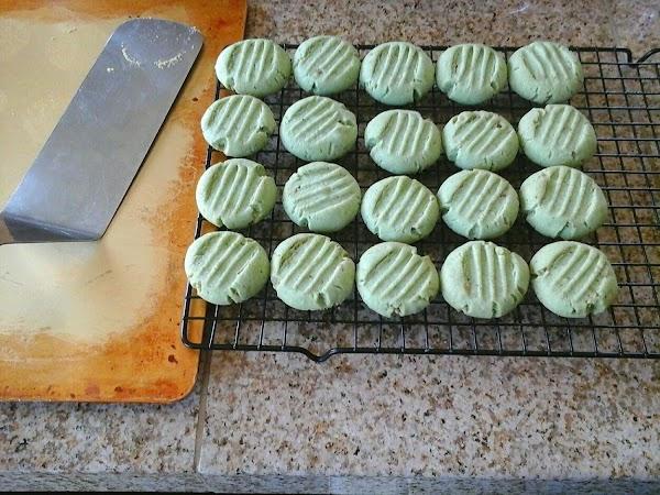 Pistachio Shortbread Cookies Recipe