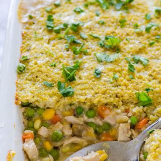 Quinoa Chicken Pot Pie.