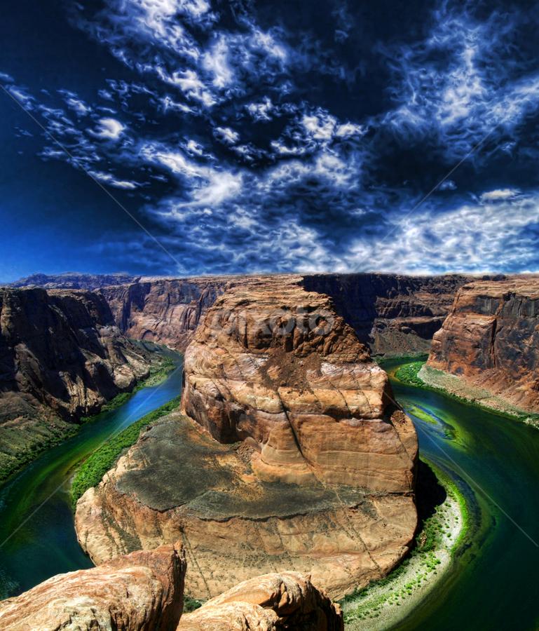 Colorado River by Marco Caciolli - Landscapes Travel ( navajo, south west, arizona, travel, landscapes, river, grand canyon )