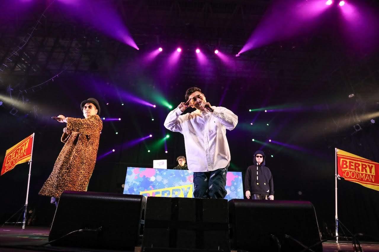 COUNTDOWN JAPAN 19/20 大阪三人組 ベリーグッドマン ( BERRY GOOD MAN )
