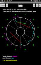 Natal Charts with Transits screenshot thumbnail