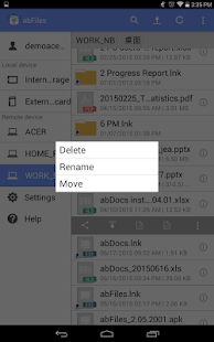 abFiles (Acer Remote Files)- screenshot thumbnail