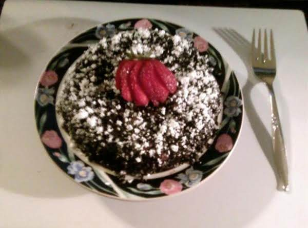 5 Minute Microwave Chocolate Cake Recipe
