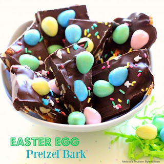 Easter Egg Pretzel Bark