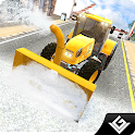 Snow Plow Winter Truck Driver icon