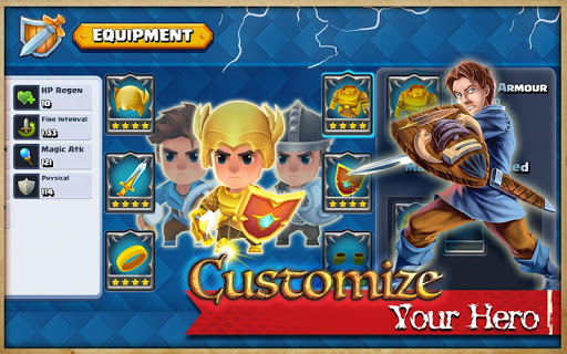 Beast Quest Ultimate Heroes screenshot 11