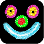 Kids Doodle Glow Icon