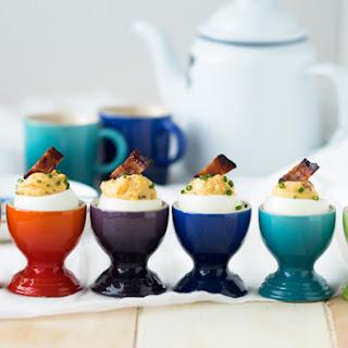Bacon Deviled Eggs for Breakfast