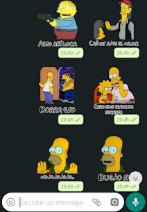 Stickers Memes de los Simpsons – WAStickerApps 7