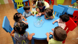 Imagen de una escuela infantil de la provincia.