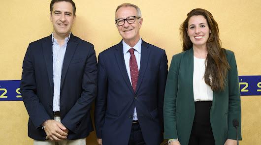 Cabezas de lista de PP, PSOE y Vox antes del debate en la Cadena SER.