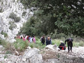 Photo: Subiendo hacia el Pas de sa Romana