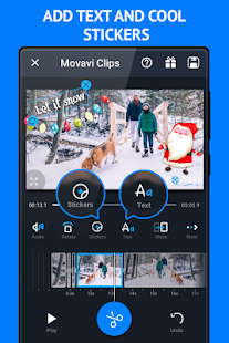 Movavi Clips Video Editor - náhled