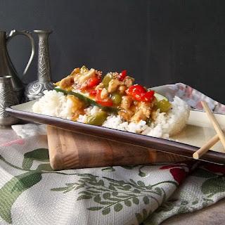 Kung Pao Chicken Zucchini Boats