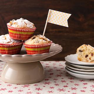 Marzipanstollen-Muffins