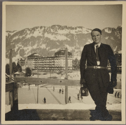 Will Grohmann in the mountains