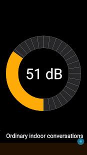 Sound Meter Simple Detector - náhled