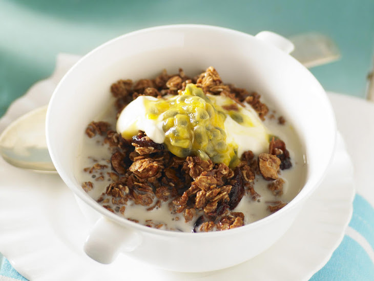 Granola with Cranberries, Hazelnuts, and Coconut Recipe