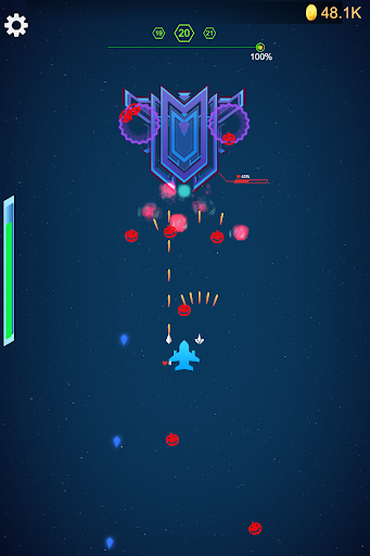 Galaxy Polygon:Shooter - Alien Attack&Space Shoot screenshot 2
