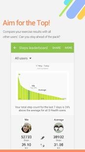 S Health Screenshot 4
